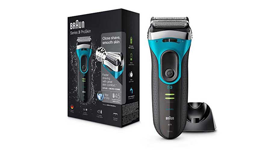 Rasoio-Elettrico-Braun-Series-3-ProSkin-3080s-recensione
