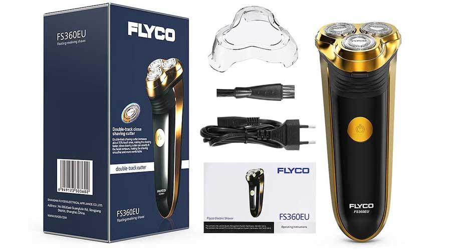 Rasoio-Elettrico-FLYCO-FS360-recensione